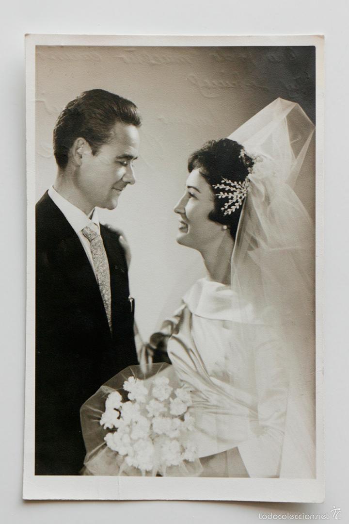 Retrato de boda de Amparo y Antonio. Valencia 1962- El Desván de Bartleby C/.Niebla 37. Sevilla