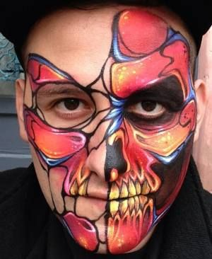 face painting designs for beginners and pros animals and tribal kids and adults will love to try face painting designs - Halloween Face Paint Ideas For Adults