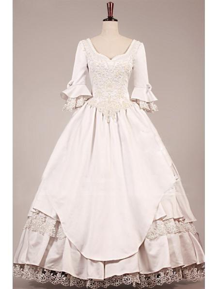 Wedding Dresses Boston Vintage Victorian Wedding Dress 2014 Classic Wedding Dresses From Gracedressonline, $133.51| Dhgate.Com