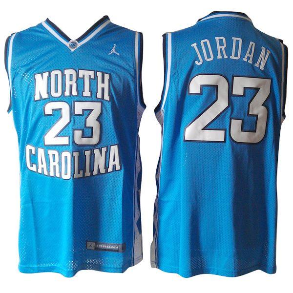 Michael Jordan North Carolina #23 Sky Blue Jersey   Michael jordan ...