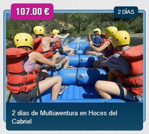 VIAJE FIN DE CURSO A LAS HOCES DEL CABRIEL - 5 DÍAS http://www.viajeteca.net/viajes-fin-de-curso/viaje-fin-de-curso-hoces-cabriel