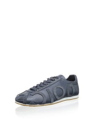 40% OFF Dolce & Gabanna Men's Logoed Sneaker (Blue)