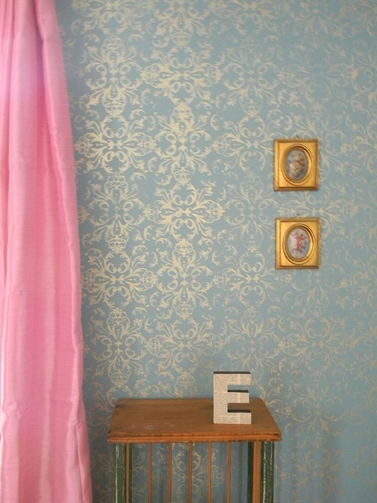 Diy Painted Stencil Bathroom Floor: Best 25+ Diy Stenciled Walls Ideas On Pinterest