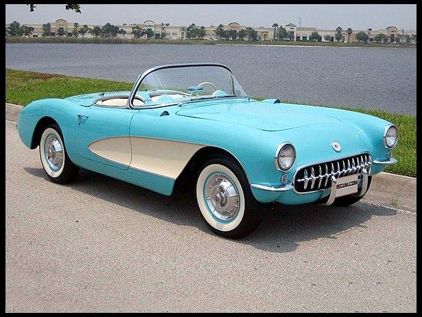 1957 Chevrolet Corvette Convertible 283/270 HP, 3-Speed
