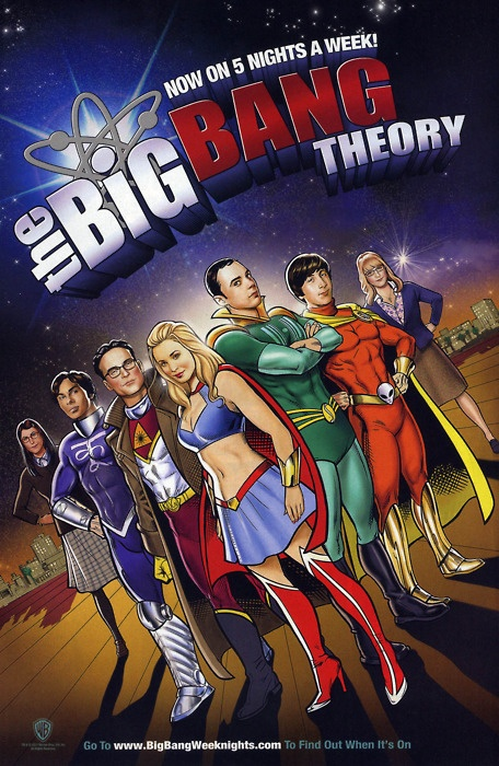 The Big Bang Theory- I became a fan of this show not only for the witty writing and lovable characters, but the impact it had on showing the marginalized group of  intellects/scholars and acceptance of other fandoms.