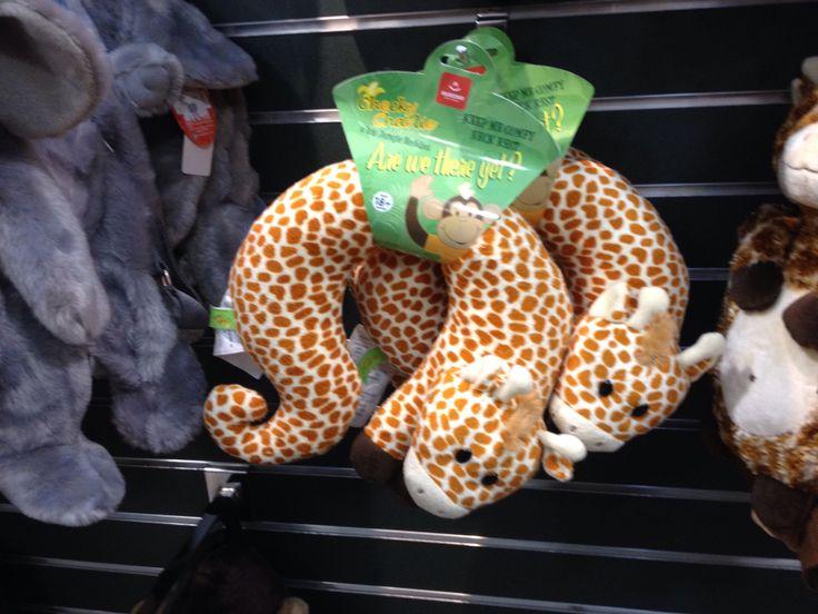Giraffes ruin travel pillows.