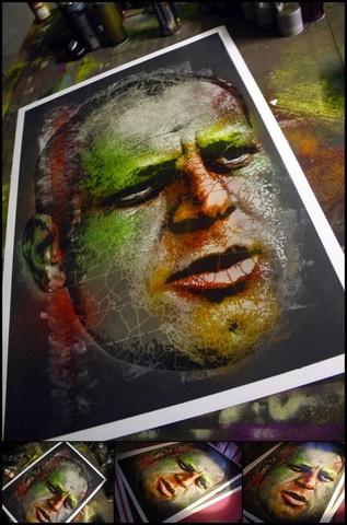 2012 | Portrait of Jackson Pollock  http://shop.prettyportal.de/products/orticanoodles-portrait-of-jackson-pollock#