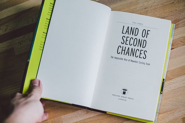 Isadore Apparel  - Land of Second Chances - Tim Lewis - Meet Adrien Niyonshuti, a member of the Rwandan cycling team. Adrien was seven years old when he lost his family in the 1994 genocide that tore Rwanda apart. #isadoreapparel #roadisthewayoflife #cyclingmemories #book