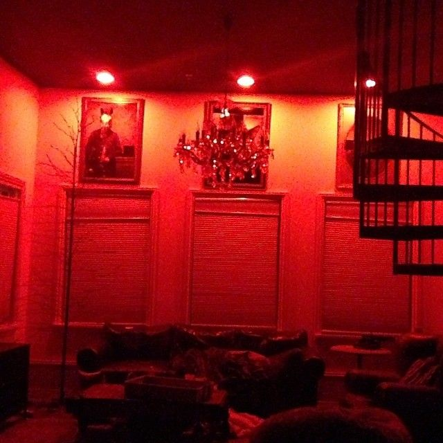 Great red #mood lighting from @heelyeah2012 on Instagram ! #LIFX