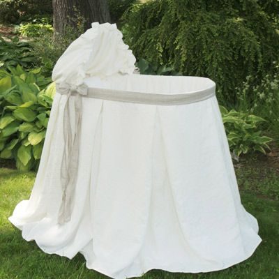 A bassinet fit for a little princess or prince