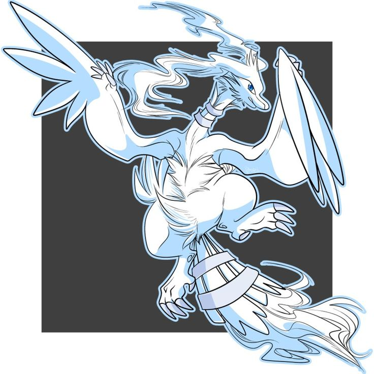 643.- Reshiram by Kaleidoskopic on DeviantArt