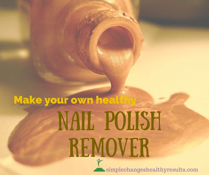 DIY: Make your own healthy Nail Polish Remover