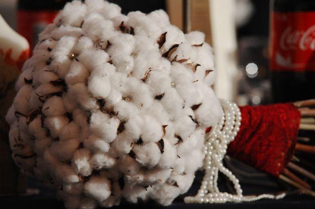 cotton bouquet