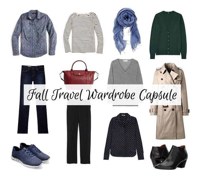 Tips for building a fall travel wardrobe capsule at une femme d'un certain age.
