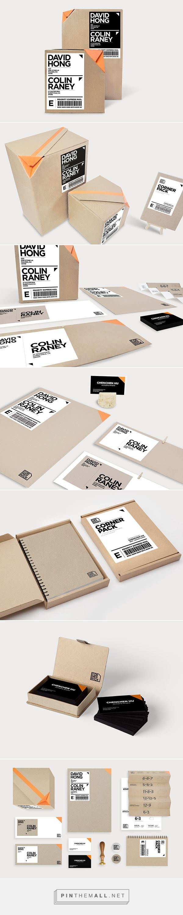 Corner Pack packaging system for the visually impaired by Chencen Hu.