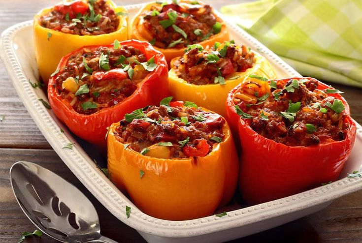 Stuffed Peppers – Pegan 365 Diet Recipe – Dr Oz