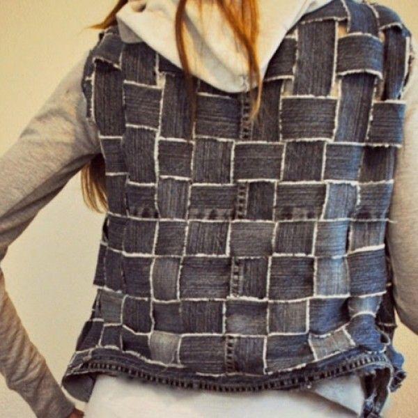 Customizar colete jeans: dicas, passo a passo