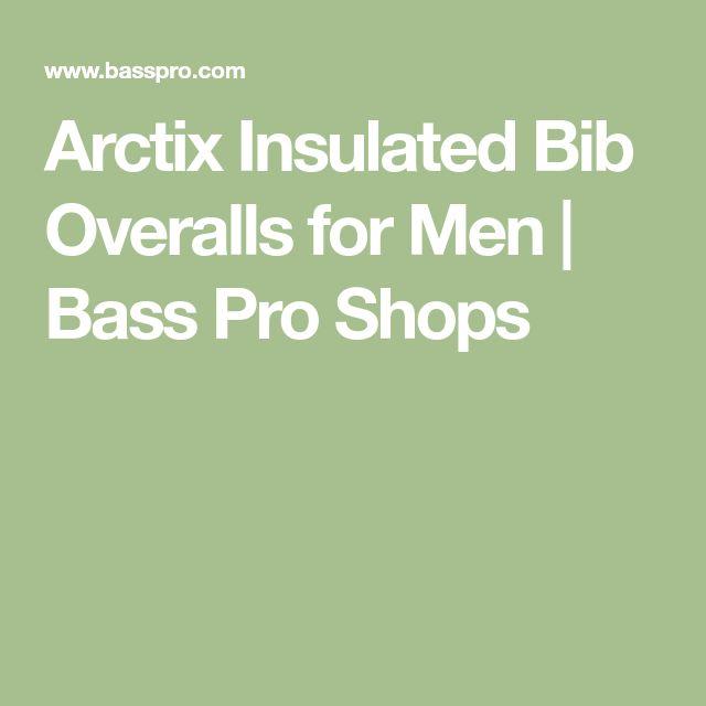 Arctix Insulated Bib Overalls for Men | Bass Pro Shops