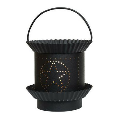 Black Star Electric Tart Warmer -   Our Black Star Electric Tart Warmer has a painted sheet metal base with fluted pan details and a heavy gauge wire handle. You will love the glossy black paint finish.
