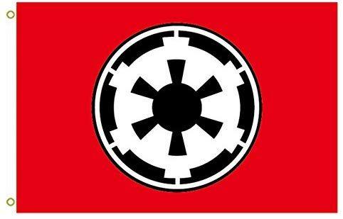 Amazon Com Large Flag Galactic Empire Star Wars Flag 0c Outdoor Flag Flying Flag 3x5ft Banner Garden Outdoor Galactic Empire Galactic Galactic Republic