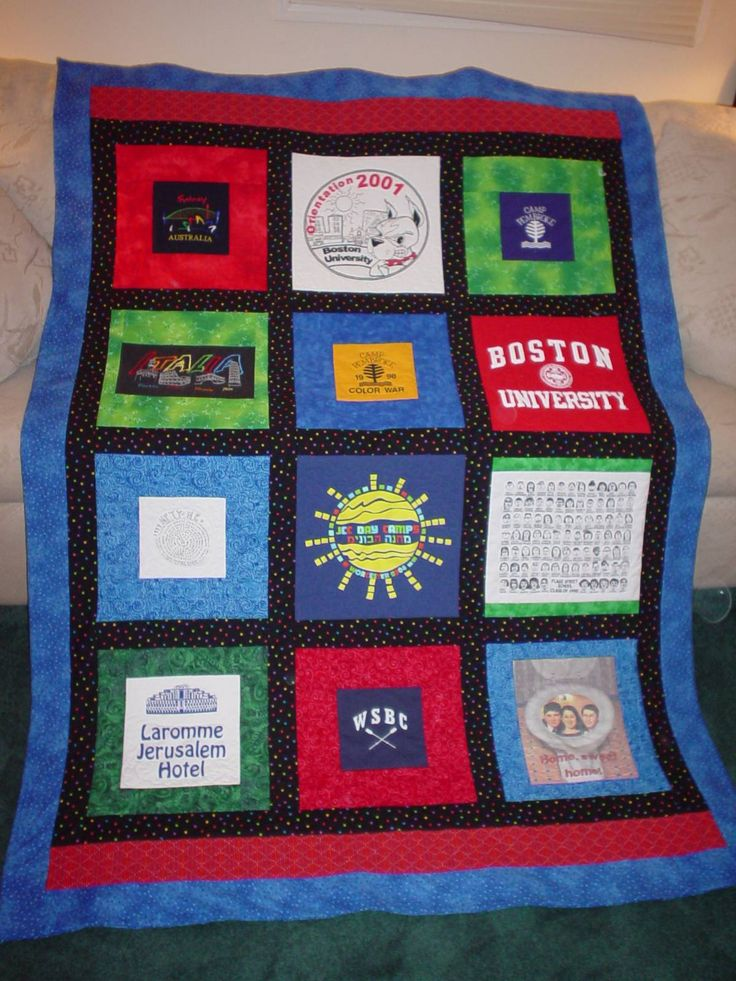 Tee Shirt Quilt Ideas