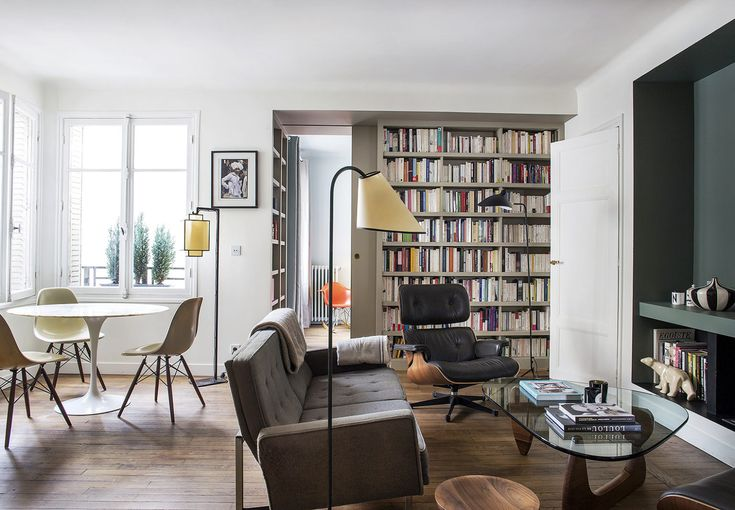 9 Small-Space Ideas to Steal from a Tiny Paris Apartment - The Organized Home