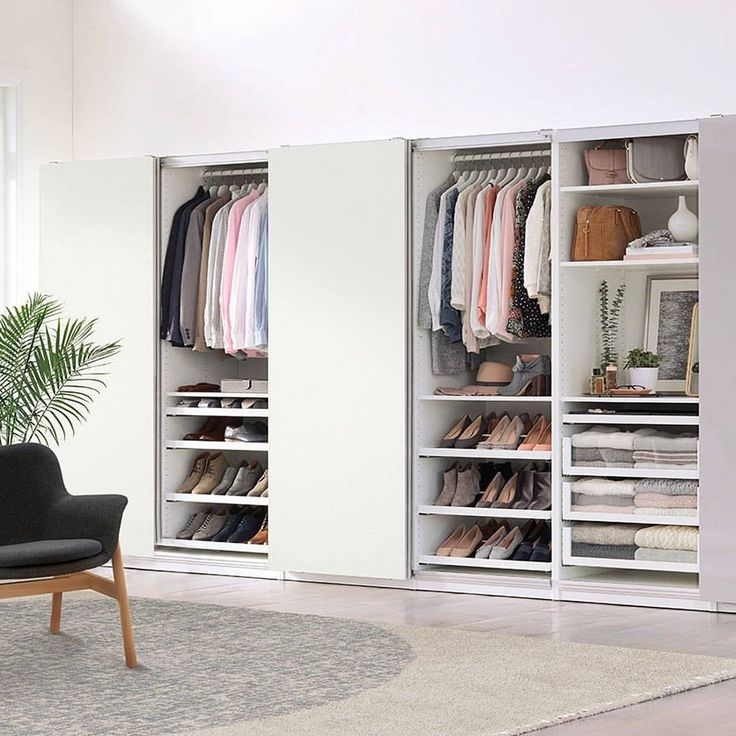 Amazing Our PAX wardrobe systems are flexible and customizable for