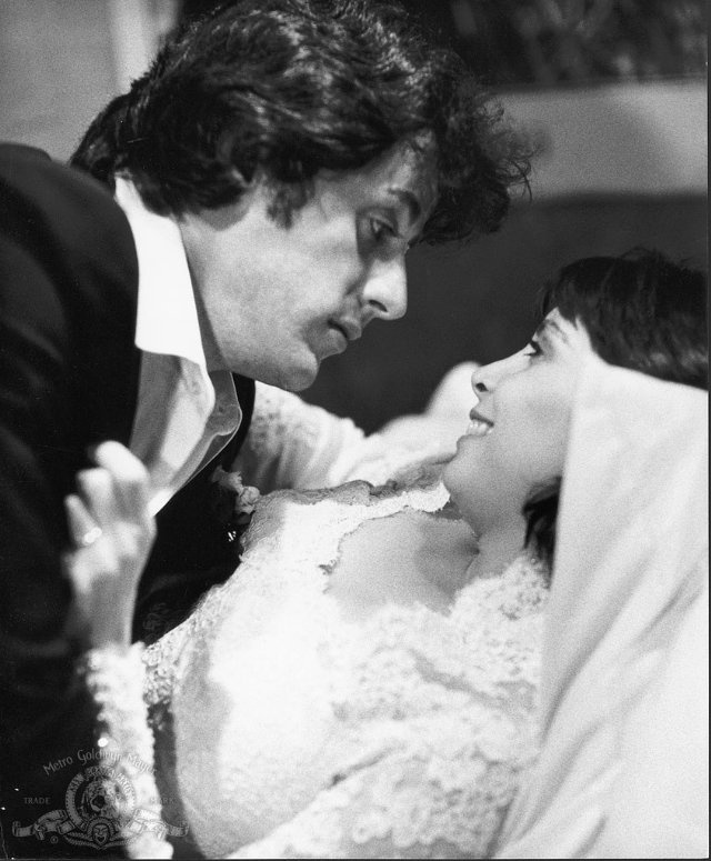 Still of Sylvester Stallone and Talia Shire in Rocky II