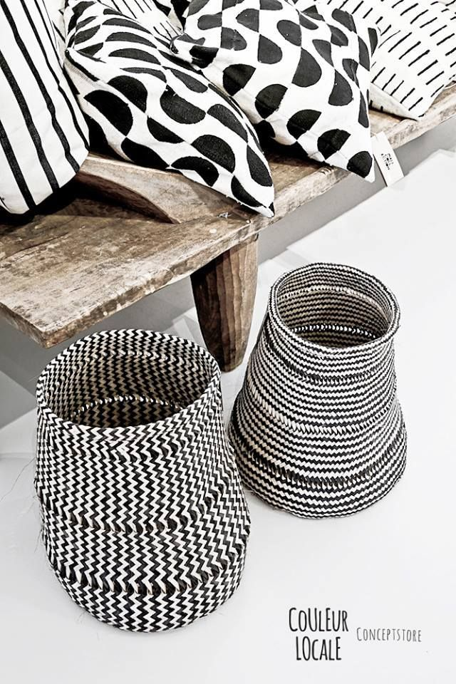 Baskets by Design Afrika | Styled for Belgian concept store Couleur Locale | www.designafrika.co.za | Photo - Paulina Arcklin