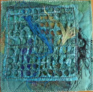 "Hannie's- Quilts en Art-Textiel Welkom op mijn blog: Fibermail ruil! ""Recycling""en ""Boekenleggers"""
