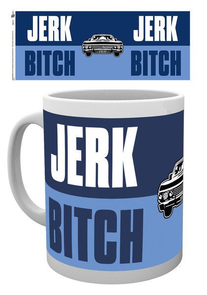 Supernatural Tasse Jerk Bitch