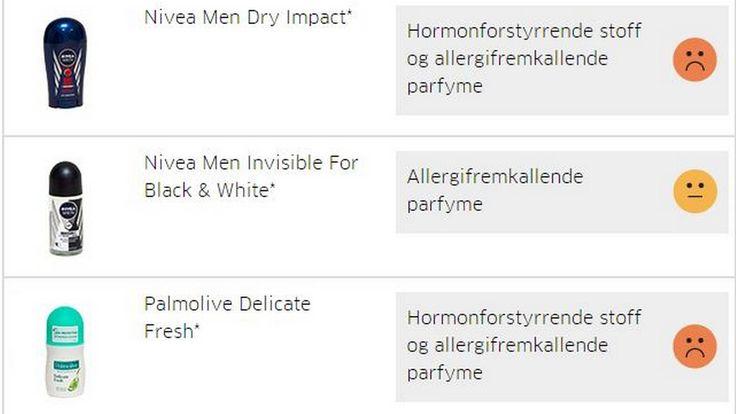 Disse deodorantene bør du styre unna - Aftenposten
