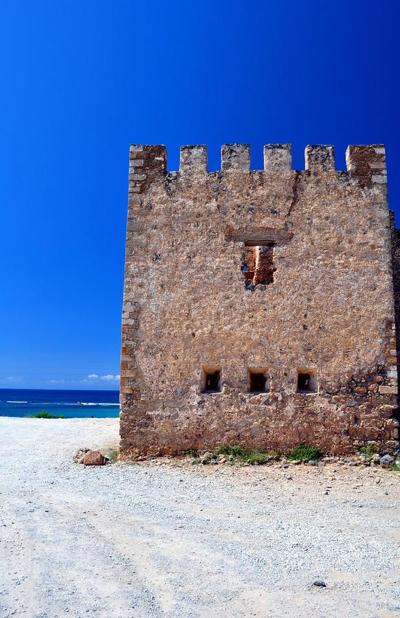 Frangocastello Castle, South Coast of Crete, Greece