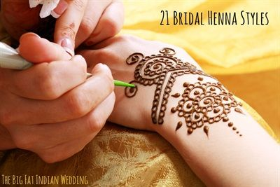 21 Trend Styles of Bridal Henna - Gallery