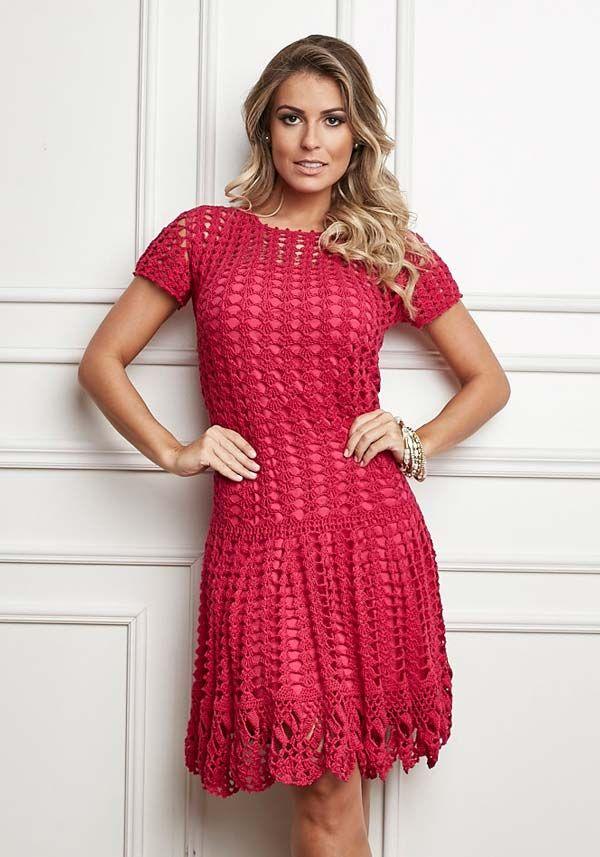 Vestido Pink - Linha Cléa 5                              …