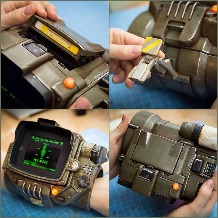 How brilliant is this 3D printed Pip-Boy 3000MKIV?! This was created by…