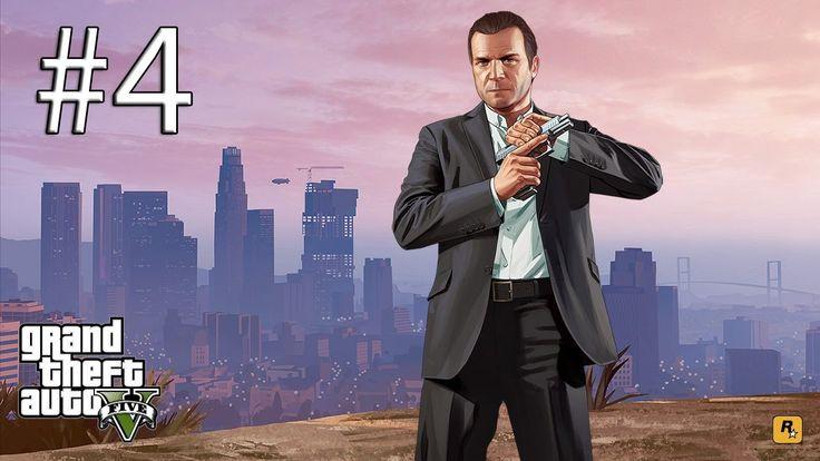 Grand Theft Auto V lEp.4l Знакомства с Майклом