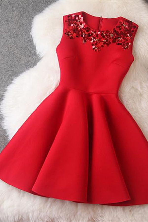 1000  ideas about Red Party Dresses on Pinterest  1950s dresses ...