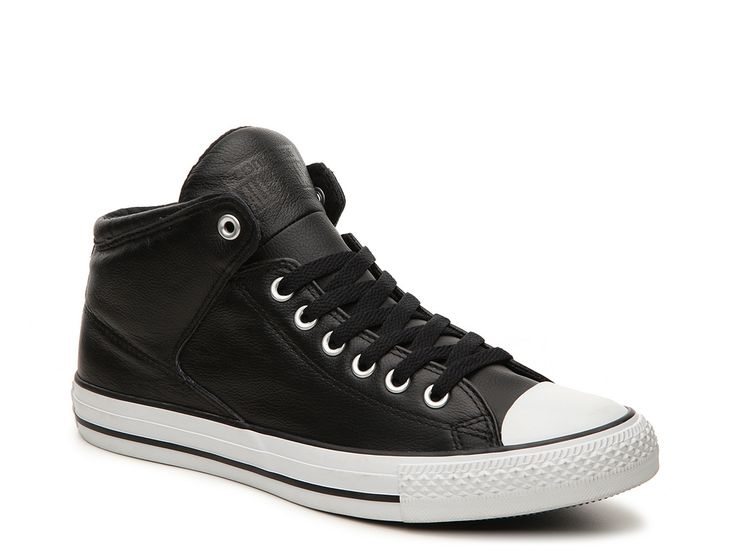 Converse Chuck Taylor All Star Street Leather High-Top Sneaker - Mens ·  Black ...