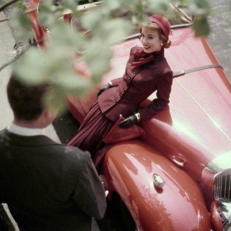1952 NY | Fashion | Pinterest | Candid, Feelings and Vintage