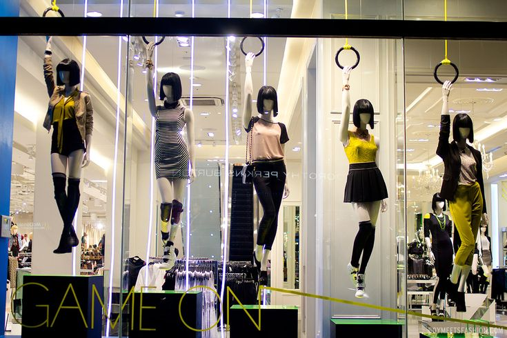 Olympics Window Displays by Forever 21? | Boy Meets Fashion – the style blog for men and women