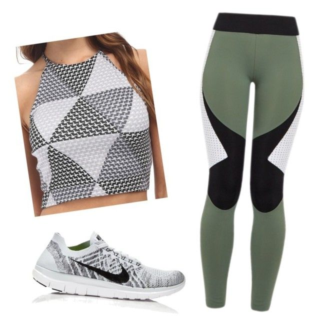 """sport"" by gwenpunk on Polyvore featuring Rachel Pally, NIKE and Charli Cohen"