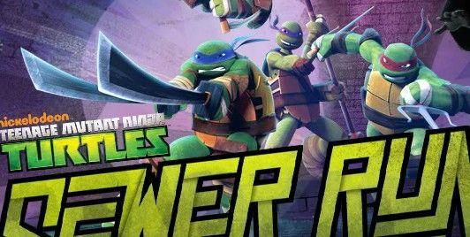 Ninja Turtles Sewer Run   Malika Games Online Free