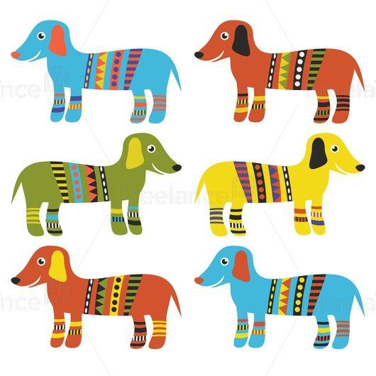 Funny dachshund. Dogs. Buy Image for $ 5. #dog #dachshund #graphics #arts #design #freelancediscount