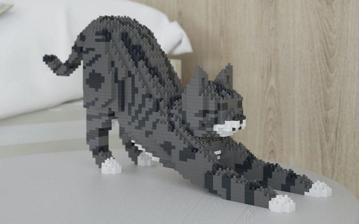 Si les blocs LEGO et les chats sont deux choses que vous adorez dans ce monde, alors vous pouvez maintenant commander des statues de chats faites en LEGO.