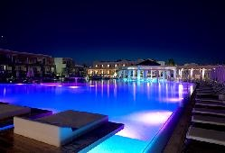 From $889 a Week. Pelagos Suites Hotel is a beachfront hotel, spread in 39,000 m² in a quiet location on Lambi Beach, 2.5 km from the centre of Kos Town. It features 3 swimming pools, 2 tennis courts and a floating restaurant.     http://www.stayinkos.com/hotels/hotelpage.php?ln=en=88