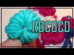 ROCOCÓ (TELAR ÁRBOL, Decorativo, Tapicería) LANA TERAPIA. WOOL THERAPY, LANA WOLLE. - YouTube