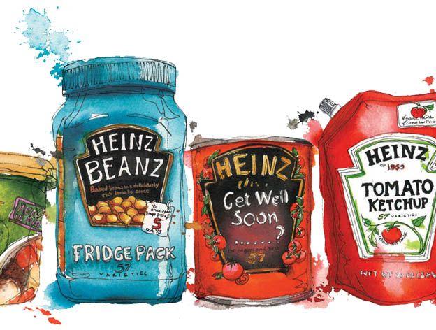Wall 57 for Heinz - Georgina Luck