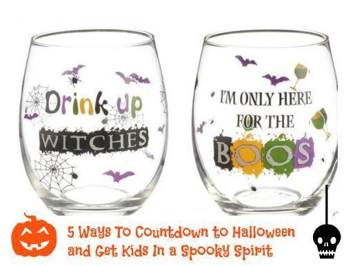 Ways To Countdown to Halloween and Get Kids In a Spooky Spirit ...