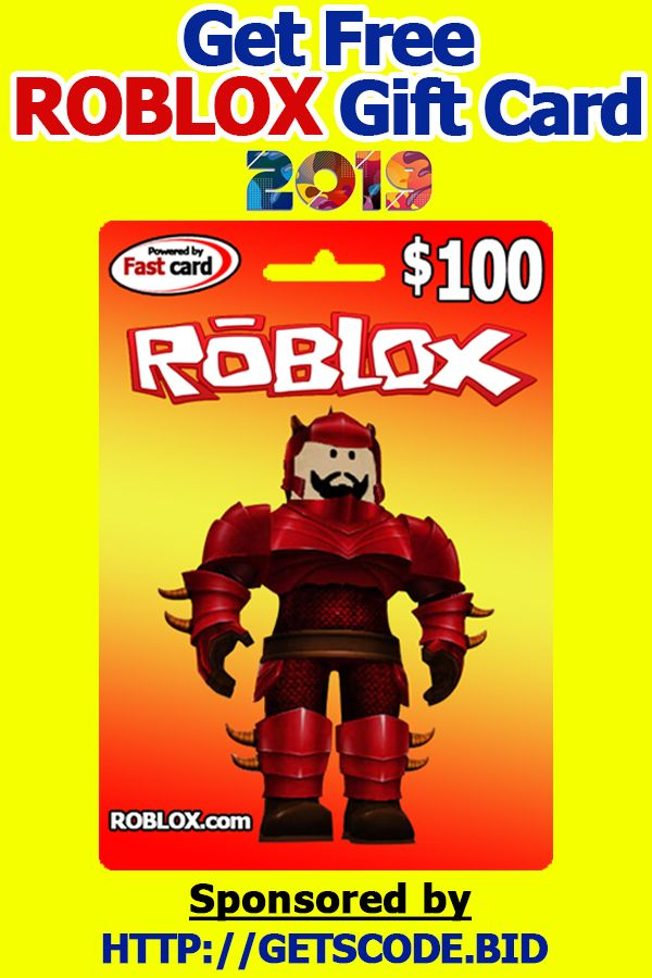 How To Get Free Roblox Gift Card Roblox Gift Card Codes Roblox